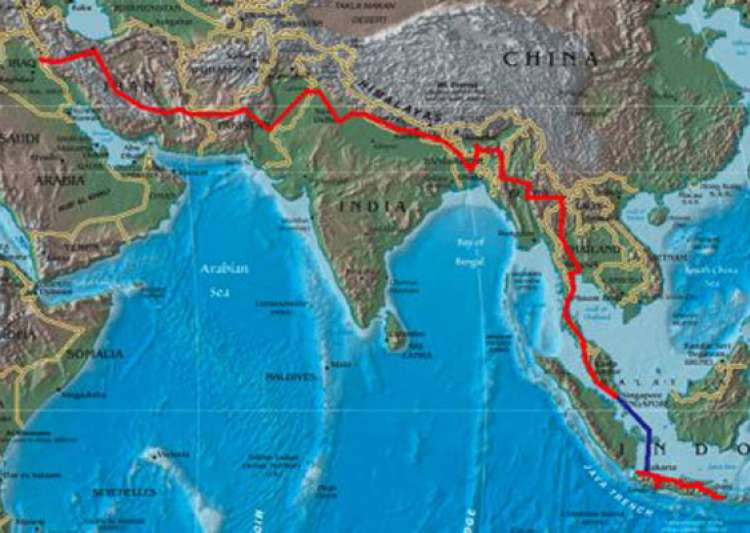108 giant chinese infrastructure projects that are- India Tv