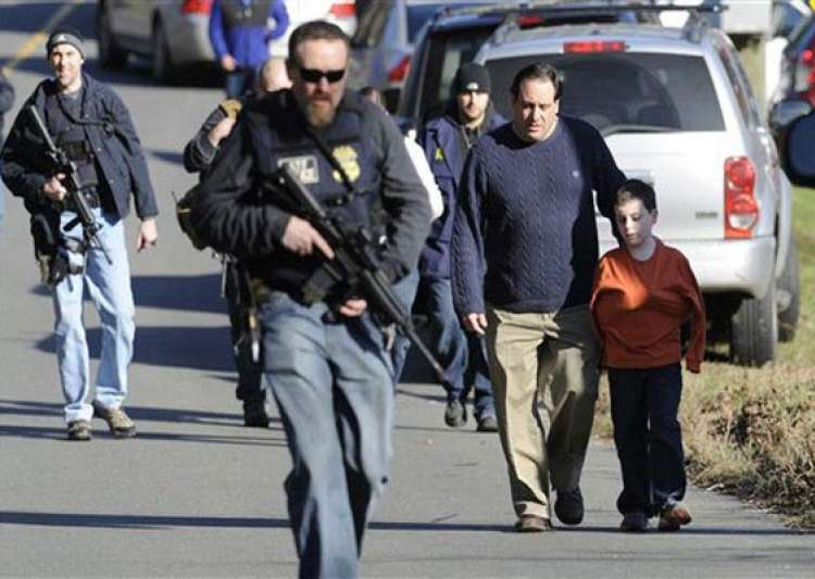 26 including 20 kids killed in us shootout youth first kills mom takes her car to school for massacre- India Tv