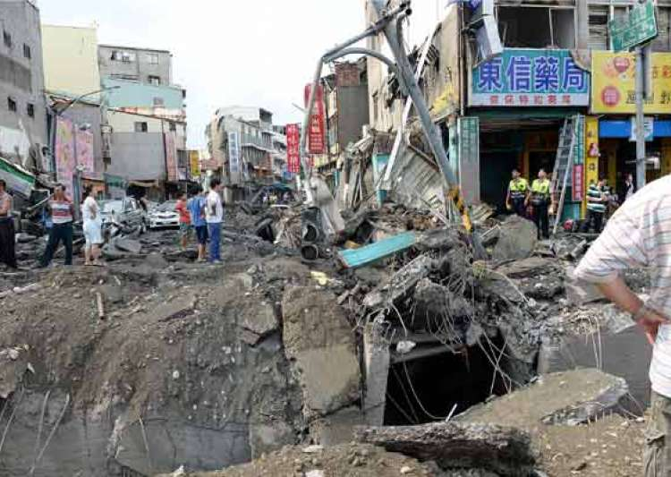 death toll in taiwan gas leak tragedy mounts to 24- India Tv
