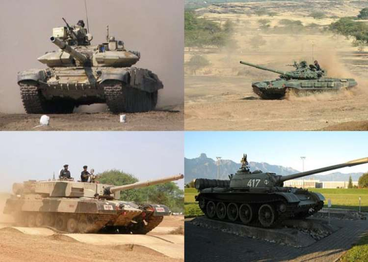 a look at indian army s main battle tanks- India Tv