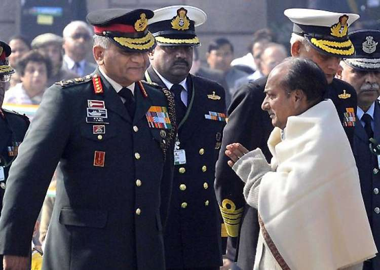 army chief gen singh says he told antony he was offered rs- India Tv