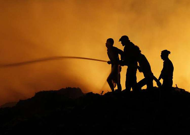 four die in fire accident in coimbatore- India Tv