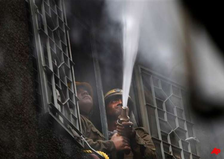 garments factory gutted in east delhi fire- India Tv