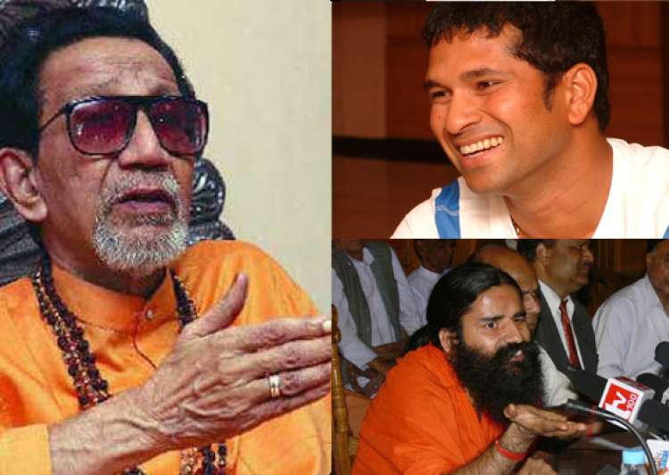 give bharat ratna to sachin demand ramdev bal thackeray- India Tv