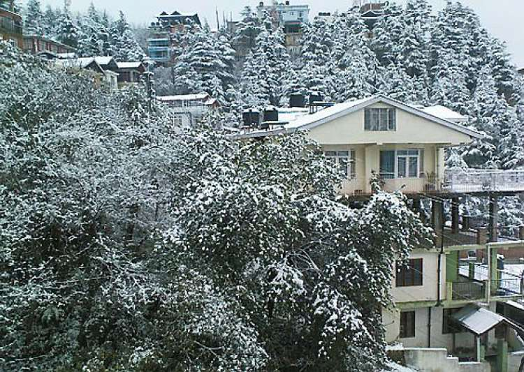hills near shimla manali get season s first snow- India Tv