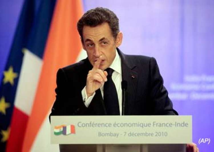 sarkozy asks pakistan to be resolute in fight against terror- India Tv