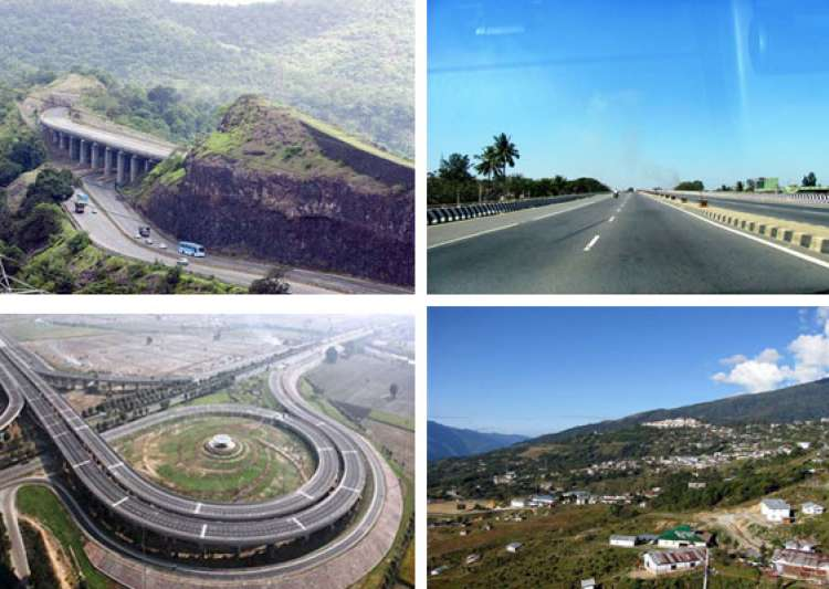 india s 7 most striking highways- India Tv
