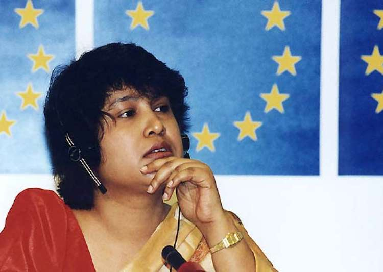 intellectuals bat for taslima s return to kolkata- India Tv