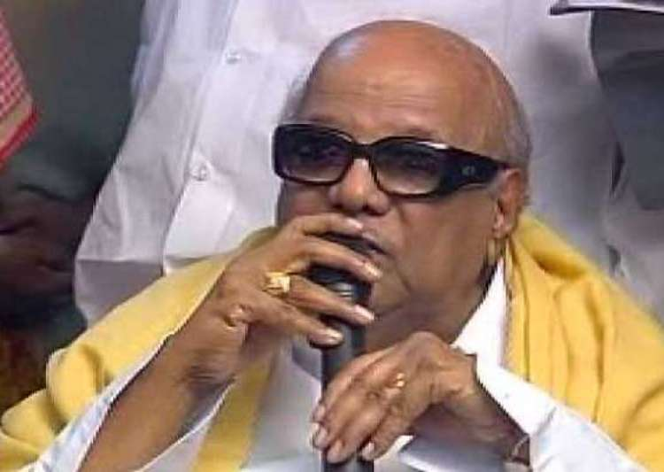 karunanidhi opposes service tax on rice- India Tv