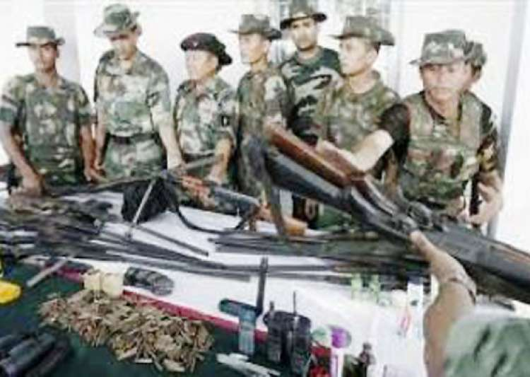 seven militants surrender in manipur- India Tv