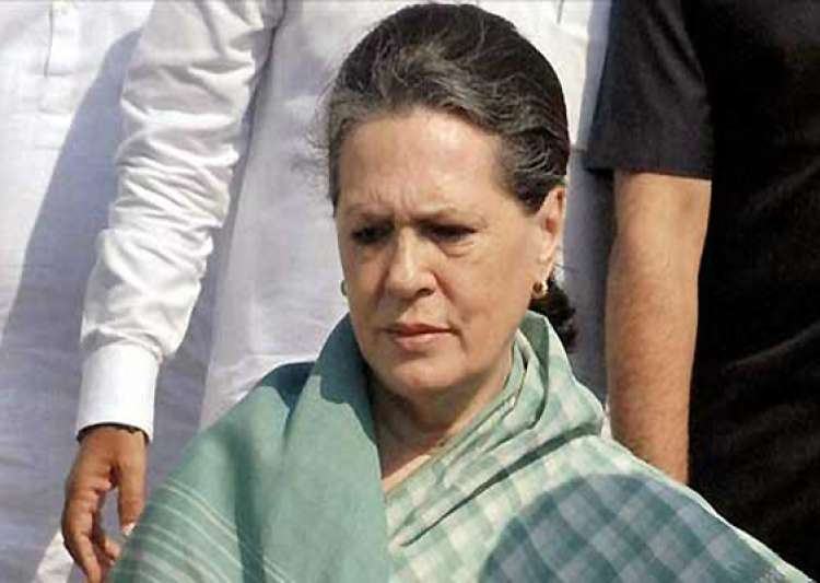sonia gandhi meets rape victim at aiims- India Tv