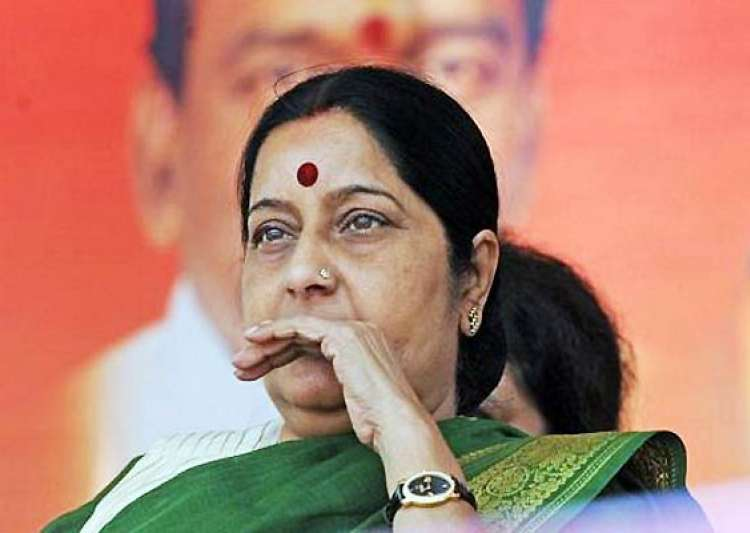 sushma swaraj demands decisive action on indian kids in- India Tv