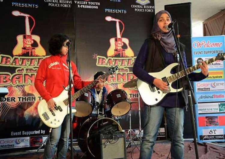 kashmir s all girl rock band member says they disbanded- India Tv