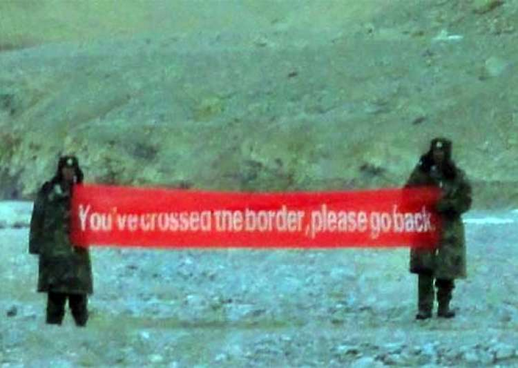 chinese troops intruded into indian side in ladakh abused- India Tv