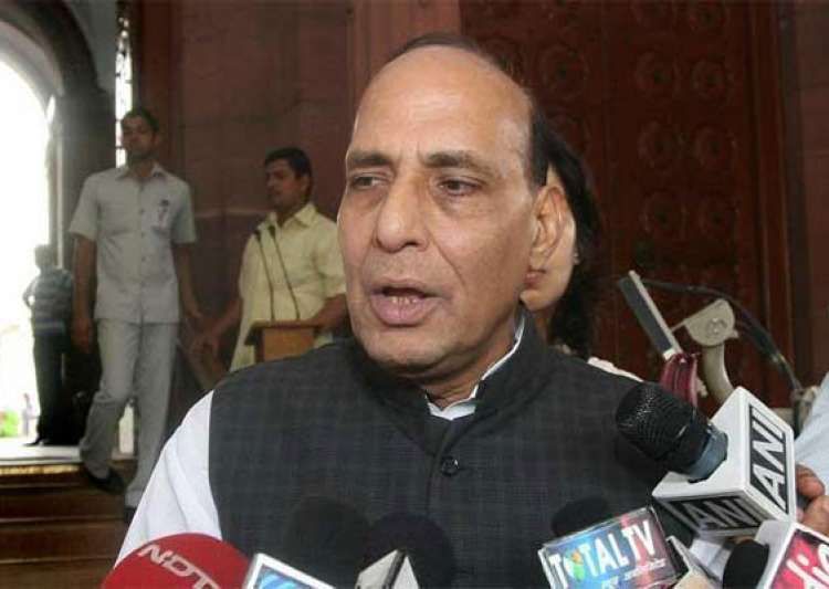 bjp prez rajnath singh ducks questions on modi as pm- India Tv