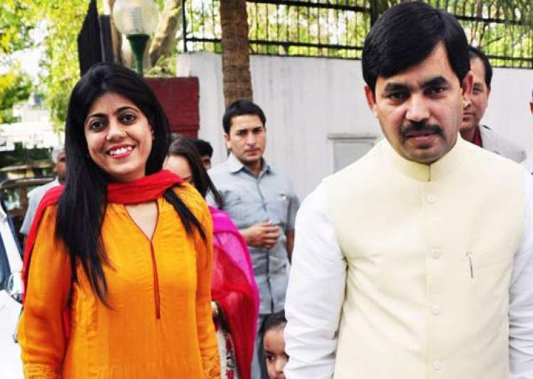 jab they met shahnawaz hussain and renu sharma- India Tv