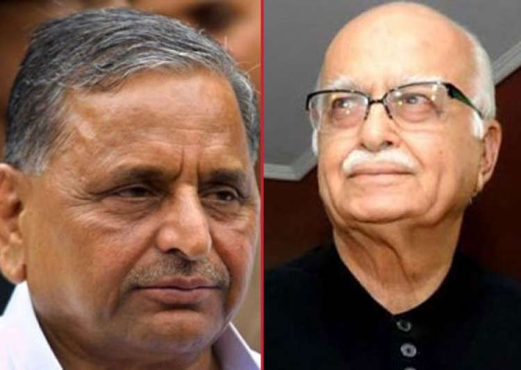 mulayam showers praise on advani lashes out at son akhilesh for poor performance- India Tv