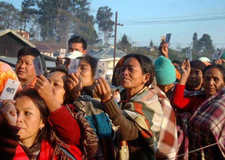 30 per cent polling in first three hours in nagaland- India Tv