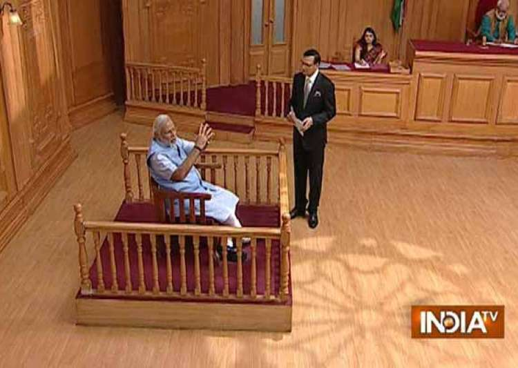 exclusive read full interview of narendra modi to rajat- India Tv