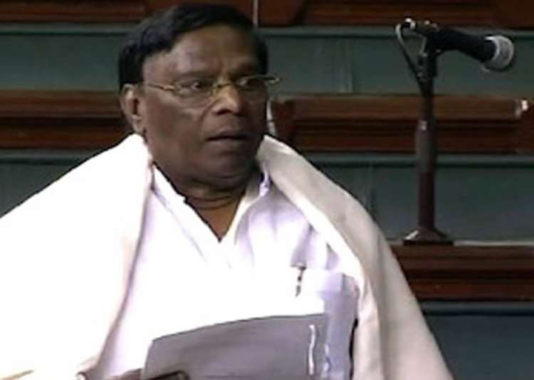 sp mp snatches quota bill from minister lok sabha adjourned for the day- India Tv