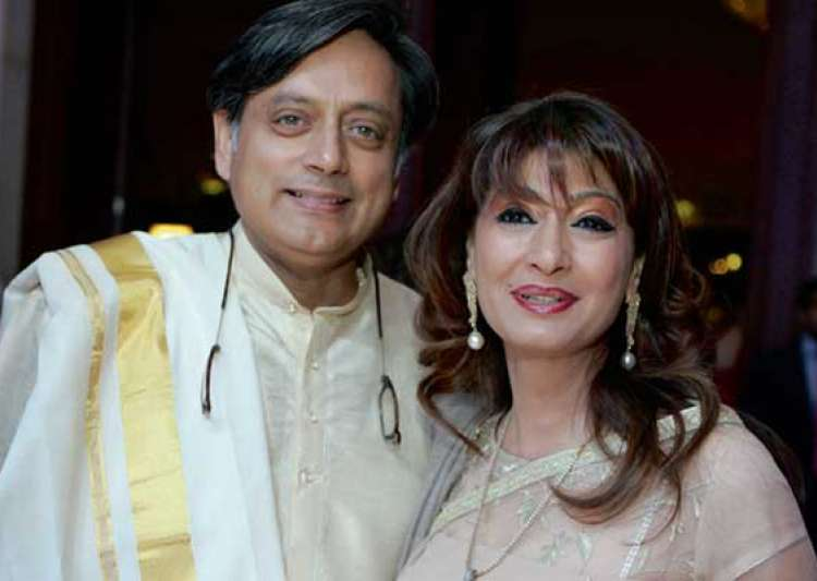 short tempered sunanda pushkar threatened to throw drinks- India Tv