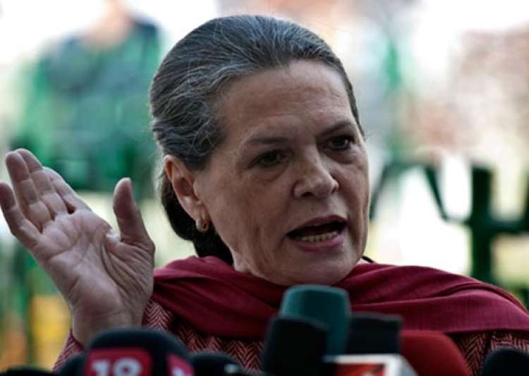 sonia gandhi parties must stand united against maoists- India Tv