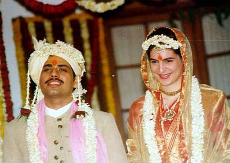 timeless pictures of priyanka gandhi and robert vadra s wedding- India Tv