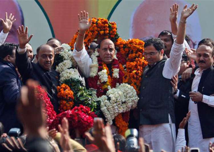 rajnath singh elected bjp president vows to bring back party to power- India Tv