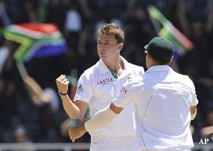 dale steyn 11 for 60 pak beaten by 211 runs in 1st test- India Tv