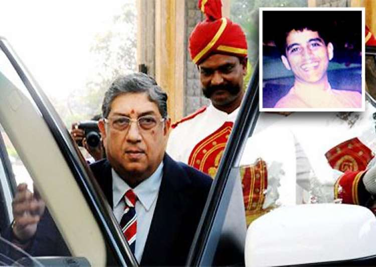 ipl6 srinivasan s son ashwin says meiyappan had always- India Tv