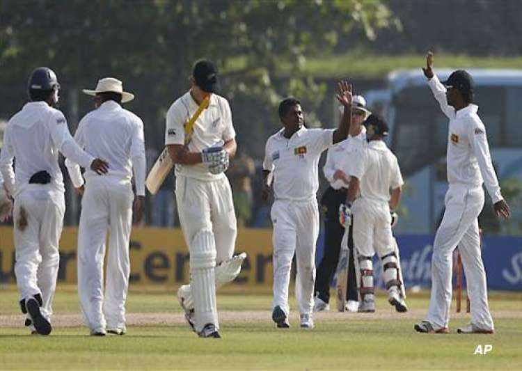 sri lanka 9 1 at stumps on 1st day against new zealand- India Tv