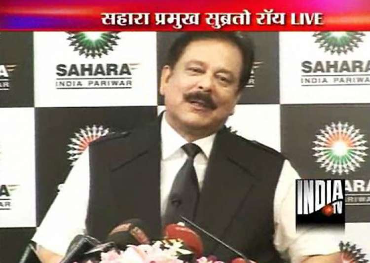 we ve had enough we took a correct decision says sahara chief subrata roy- India Tv