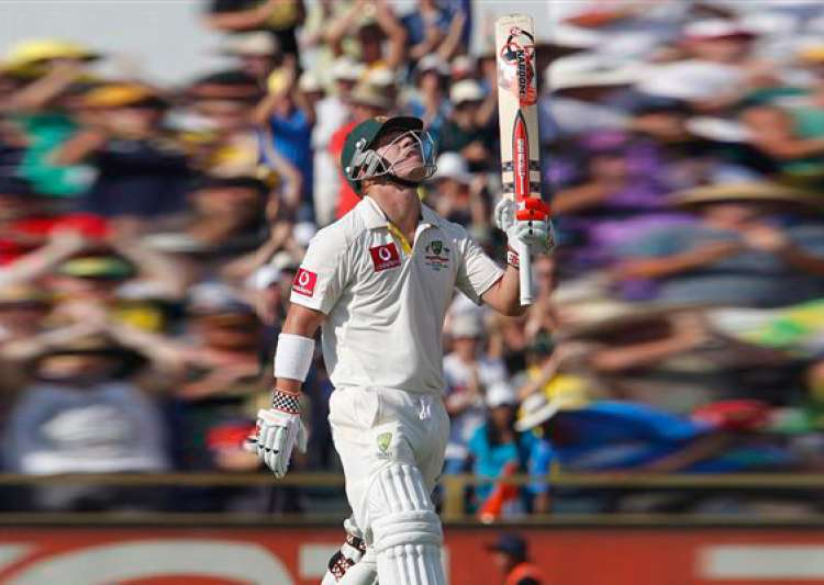 david warner strikes a hurricane ton after team india skittled out for 161- India Tv