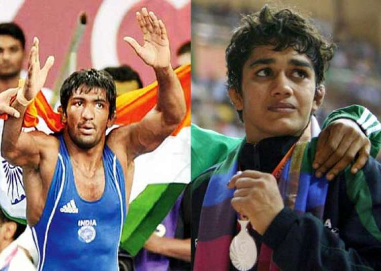 cwg 2014 grapplers give india 2 more gold as india take- India Tv