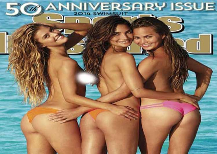 cheeky girls go topless for sports illustrated swimsuit- India Tv
