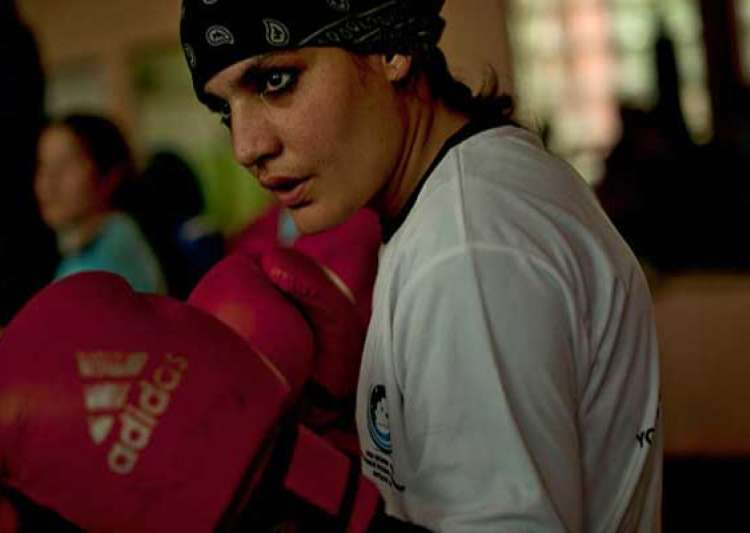 know sadaf rahimi first afghan female boxer to be invited to the 2012 london olympics- India Tv
