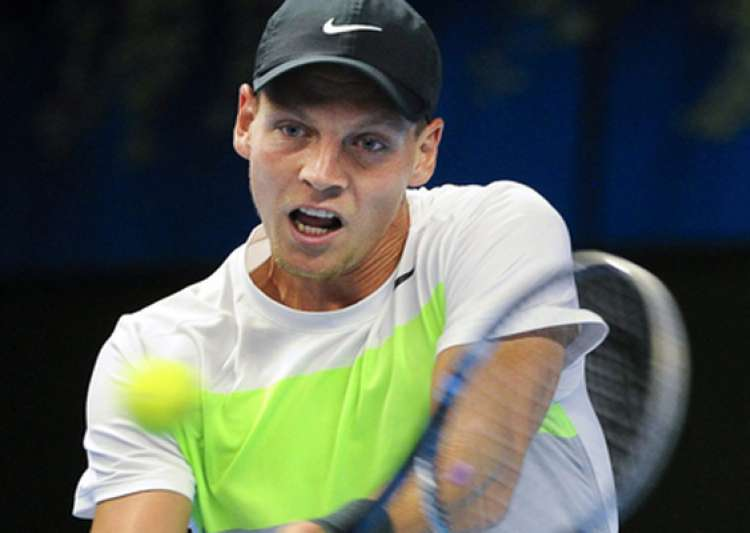 berdych tsonga into stockholm quarterfinals- India Tv