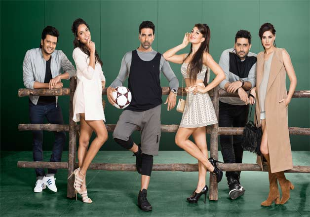 'Housefull 3' was the third instalment of 'Housefull' franchise. The film starred Akshay Kumar, Abhishek Bachchan and Riteish Deshmukh . The film made its entry in to Rs 100 crore club.
