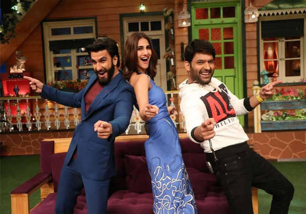 Ranveer and Vaani also promoted their flick on the famous'The Kapil Sharma Show'. The duo entertained their fans to the fullest on the episode.