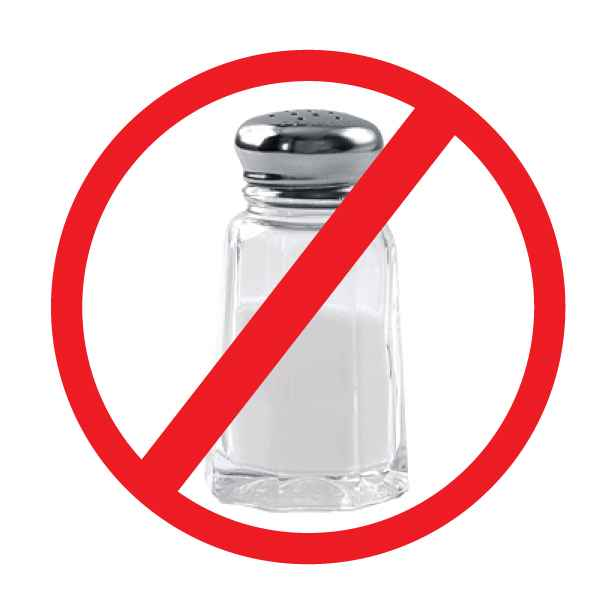 Cut on salt Reduce salt intake as extra salt can raise blood pressure. In pregnant women, excessive salt intake can increase the risk of hypertension which can lead to further complications. Limit the addition of excessive table salt to food. Tip Avoid pickles, papad, and salted snacks