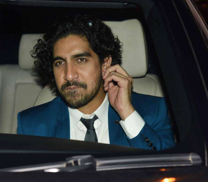 Karan's close friend and filmmaker Ayan Mukerji was also spotted at the event. He chose formal attire and looked dapper in blue.