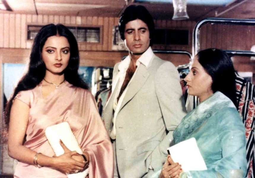 Silsila (1981) This movie takes a dive into a sensitive issue of adultery and love. A young man sacrifices his love in order to give a new life to his dead brother's fiancé. But what happens when he comes face-to-face again with his love? Will he able to hold his desires back?