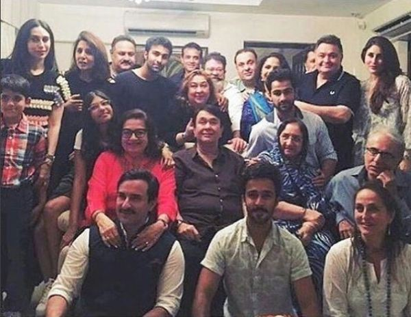 The entire Kapoor clan was present at Babita's birthday bash and, it was really a star-studded view.