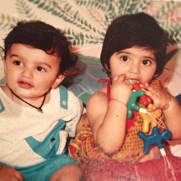 Another adorable picture with cousin Arjun Kapoor. Sonam and Arjun both share a very strong bond with each other