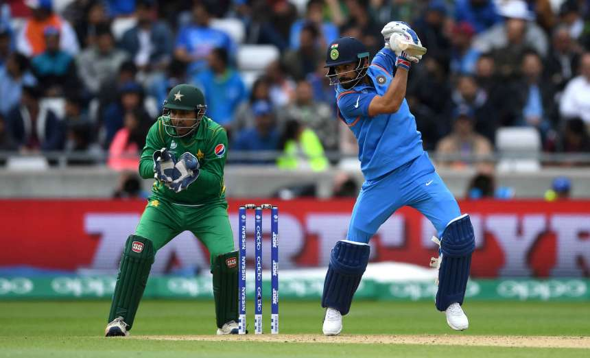 India's captain Virat Kohli made 40th career One-day International half-century and his maiden one against Pakistan.