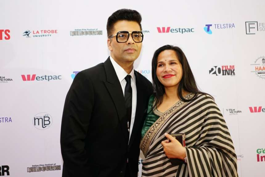 "Director-Producer Karan Johar was awarded the Leadership in Cinema Award at IFFM 2017. Karan expressed his feeling and said, ""This is my first time in Australia and what a special reason to be present here for it. For me filmmaking is always my first love. It's amazing how as directors we get to build people, break them emotionally, cheer them and make them feel happy"