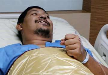 Thai man survives python attack with maleness...