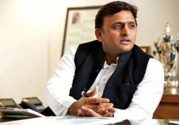 File pic of Uttar Pradesh Chief Minister Akhilesh...