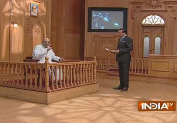 Amit Shah in Aap Ki Adalat - India TV