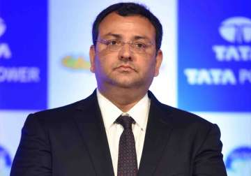File pic - Cyrus Mistry - India TV